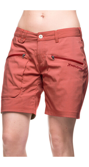 Houdini W's Gravity Shorts red rock